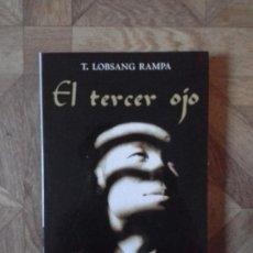 Libros: T. LOBSANG RAMPA - EL TERCER OJO. Lote 142747606