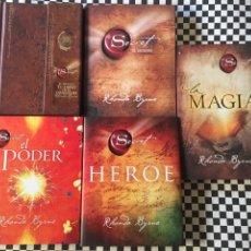 Libros: EL SECRETO 4 LIBROS MAGIA,HÉROE,EL PODER,Y AGENDA. Lote 146607354