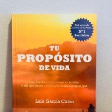 Libros: LIBRO - TU PROPÓSITO DE VIDA. Lote 151356753