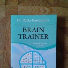 Libros: RYUTA KAWASHIMA - BRAIN TRAINER. Lote 152125934