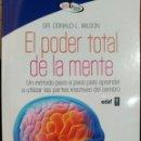 Libros: EL PODER TOTAL DE LA MENTE.. Lote 160217209