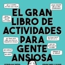 Libros: GRAN LIBRO DE ACTIVIDADES PARA GENTE ANSIOSA. Lote 170061720
