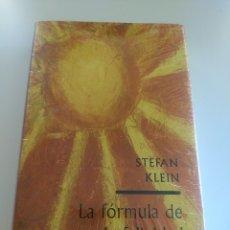Libros: LA FORMULA DE LA FELICIDAD -STEFAN KLEIN. Lote 172652884