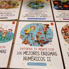 Libros: DE 9 A 99 AÑOS / ENTRENA TU MENTE CON... / MIQUEL CAPÓ / IDEAL PARA REGALAR !! A ESTRENAR.. Lote 172811568