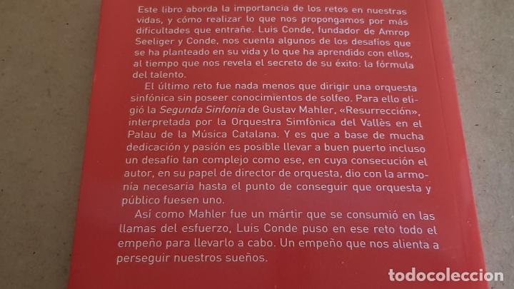 Libros: LA FÓRMULA DEL TALENTO Y MAHLER / LOS RETOS EN LA VIDA / LUIS CONDE / ED: PLATAFORMA EMPRESA-2015 - Foto 2 - 174060535