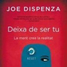 Libros: DEIXA DE SER TU. Lote 186864660