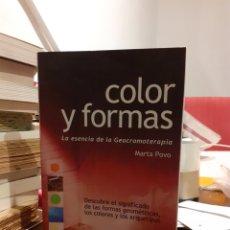 Libros: COLOR Y FORMA-MARTA POVO. Lote 197462006