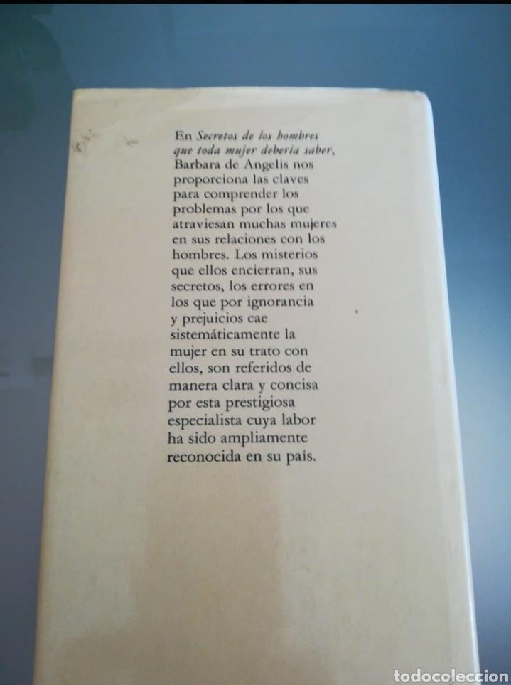 Libros: Libro Secretos de los hombres que toda mujer debe saber - Foto 2 - 198568666