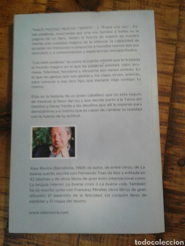 Libros: LOS SIETE PODERES - ALEX ROVIRA - UN VIAJE A LA TIERRA DEL DESTINO - Foto 3 - 201243262