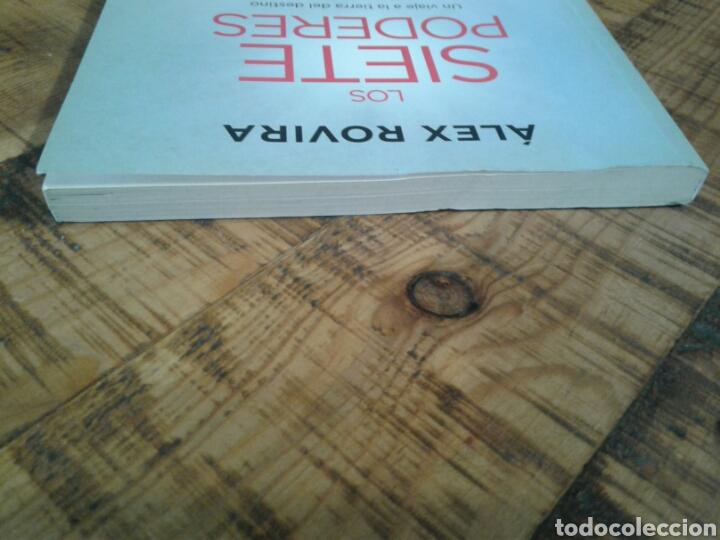 Libros: LOS SIETE PODERES - ALEX ROVIRA - UN VIAJE A LA TIERRA DEL DESTINO - Foto 6 - 201243262