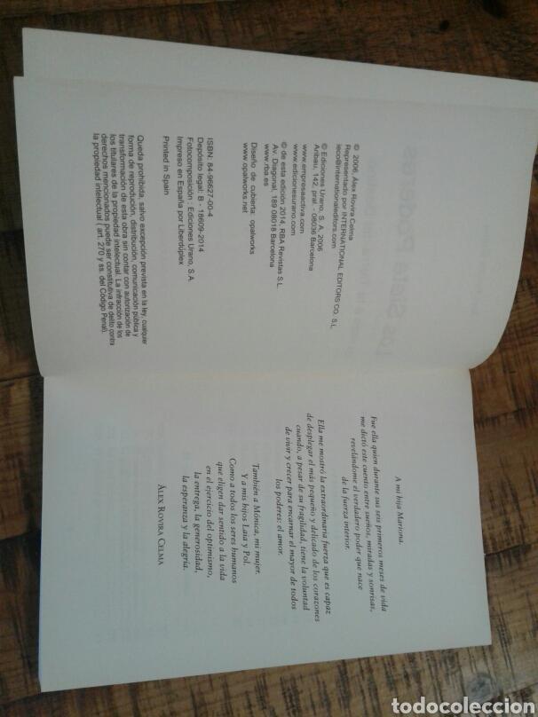 Libros: LOS SIETE PODERES - ALEX ROVIRA - UN VIAJE A LA TIERRA DEL DESTINO - Foto 7 - 201243262