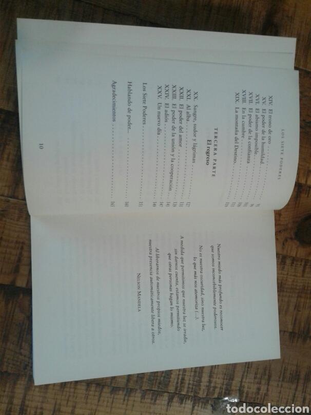Libros: LOS SIETE PODERES - ALEX ROVIRA - UN VIAJE A LA TIERRA DEL DESTINO - Foto 9 - 201243262