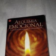 Libros: ALQUIMIA EMOCIONAL - TARA BENNETT-GOLEMAN - 2001 - 1.ª EDICION. Lote 206542303