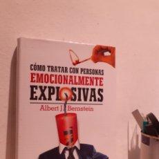 Libros: CÓMO TRATAR CON PERSONAS EMOCIONALMENTE EXPLOSIVAS. Lote 206878343