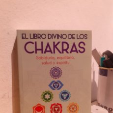 Libros: EL LIBRO DIVINO DE LOS CHAKRAS. Lote 206880736