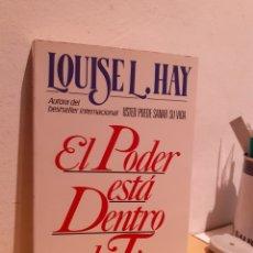 Libros: EL PODER ESTÁ DENTRO DE TI. Lote 206884448