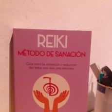 Libros: REIKI-MÉTODO DE SANACIÓN. Lote 206885405