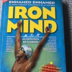 Libros: IRON MIND DE ENHAMED ENHAMED, LIBRO DE MOTIVACIÓN, ESFUERZO Y FORTALEZA. NUEVO ESTÁ SIN ESTRENAR.. Lote 207844763