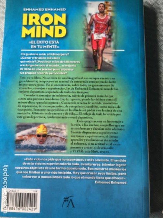 Libros: Iron mind de Enhamed Enhamed, libro de motivación, esfuerzo y fortaleza. Nuevo Está sin estrenar. - Foto 2 - 207844763