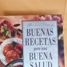 Libros: BUENAS RECETAS PARA UNA BUENA SALUD (1995). Lote 209018441