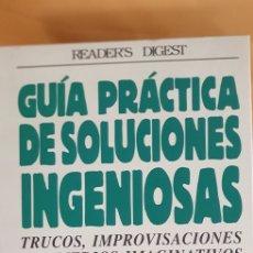 Libros: GUÍA PRÁCTICA DE SOLUCIONES INGENIOSAS (1998). Lote 209019170