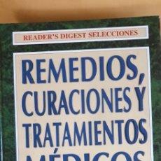 Libros: REMEDIOS, CURACIONES Y TRATAMIENTOS MÉDICOS (1998). Lote 209020305