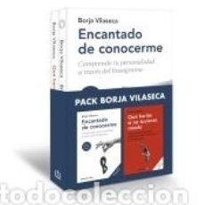 Livros: PACK BORJA VILASECA (CONTIENE: ENCANTADO DE CONOCERME | QUÉ HARÍAS SI NO TUVIERAS MIEDO). Lote 210010261