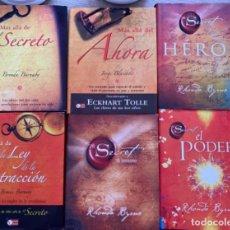 Libros: SUPER COMBO LEY DE LA ATRACCIÓN. ENVÍO CERTIFICADO GRATIS. 6 LIBROS. EL SECRETO.. Lote 211578216