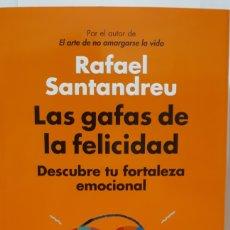 Libros: LAS GAFAS DE LA FELICIDAD DE RAFAEL SANTANDREU. Lote 213827925