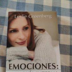 Livros: LES LIE GREENBERG, EMOCIONES, GUIA INTERNA (DESCLEE DE BROWER, 2000, 6A). Lote 216573422