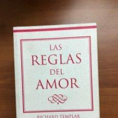 Livres: LAS REGLAS DEL AMOR. Lote 217535508