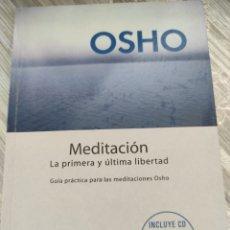 Libros: MEDITACIÓN. OSHO. Lote 218121208