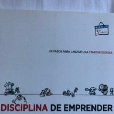 Libros: LA DISCIPLINA DEL EMPRENDER. Lote 221076586