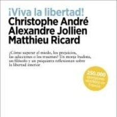 Libros: ¡VIVA LA LIBERTAD!. Lote 221247395