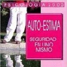 Libros: AUTOESTIMA SEGURIDAD EN UNO MISMO DELIA JURGEVIC. Lote 221609556