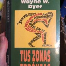 Libros: TUS ZONAS ERRONEA WAYNE W DYER. Lote 222157442