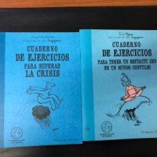 Libros: 2 TÍTULOS DE CUADERNO DE EJERCICIOS. Lote 222230942