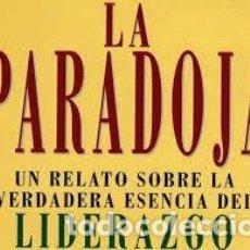 Libros: LA PARADOJA JAMES C HUNTER - LIDERAZGO -. Lote 225972370
