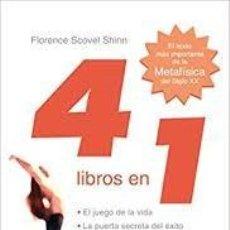 Libros: EL JUEGO DE LA VIDA Y TRES MÁS (4 LIBROS EN 1) FLORENCE SCOVEL SHINN. Lote 226026620
