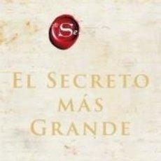 Libros: EL GRAN SECRETO. Lote 226427087
