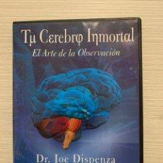 Libros: JOE DISPENZA TU CEREBRO INMORTAL DVD. Lote 230290460