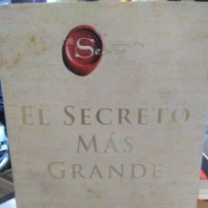 Livros: RHONDA BYRNE.EL SECRETO MÁS GRANDE.HARPER COLLINS. Lote 231424240