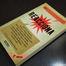 """Libros: LIBRO """" REACCIONA """"; 2ª EDICIÓN; EDITORIAL AGUILAR.. Lote 233709035"""