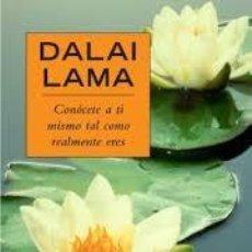 Libros: CONÓCETE A TI MISMO TAL COMO ERES DALAI LAMA. Lote 243041735