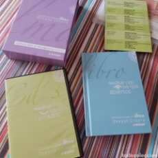 Libros: CAJA DE MEDITACIÓN INCLUYE 2 CDS Y LIBRO VALORADO 29 EUROS. Lote 243134705