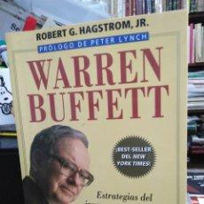 Libros: WARREN BUFFETT/ESTRATEGIAS DEL INVERSOR QUE CONVIRTIÓ 100 DÓLARES EN 14 BILLONES-ROBERT G.HAGSTROM-1. Lote 244530695