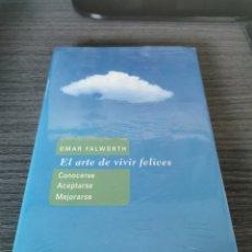 Libros: EL ARTE DE VIVIR FELICES - OMAR FALWORTH - NUEVO CON PRECINTO. Lote 247749130