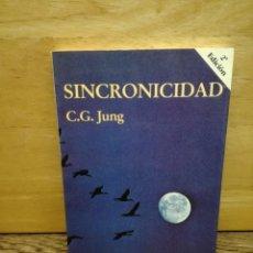 Livros: SINCRONICIDAD. Lote 250303750
