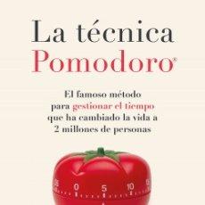 Libros: LA TÉCNICA POMODORO®. FRANCESCO CIRILLO. Lote 251526260