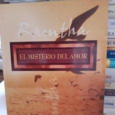 Livros: EL MISTERIO DEL AMOR RAMTHA. Lote 260791115
